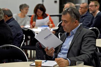 Photos de la restitution des résultats de la concertation PCAET