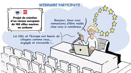 #Webinaire Participatif - Projet de création d'un réseau européen de 1001 villes neutres en carbone