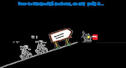#Webinaire Participatif - Pour la neutralité carbone, on est prêt à circuler uniquement en vélo dans la métropole