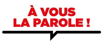 Logo officiel de À Vous La Parole !