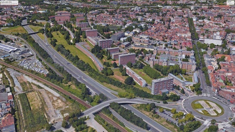 LILLE - Site Concorde - Projet de renouvellement urbain