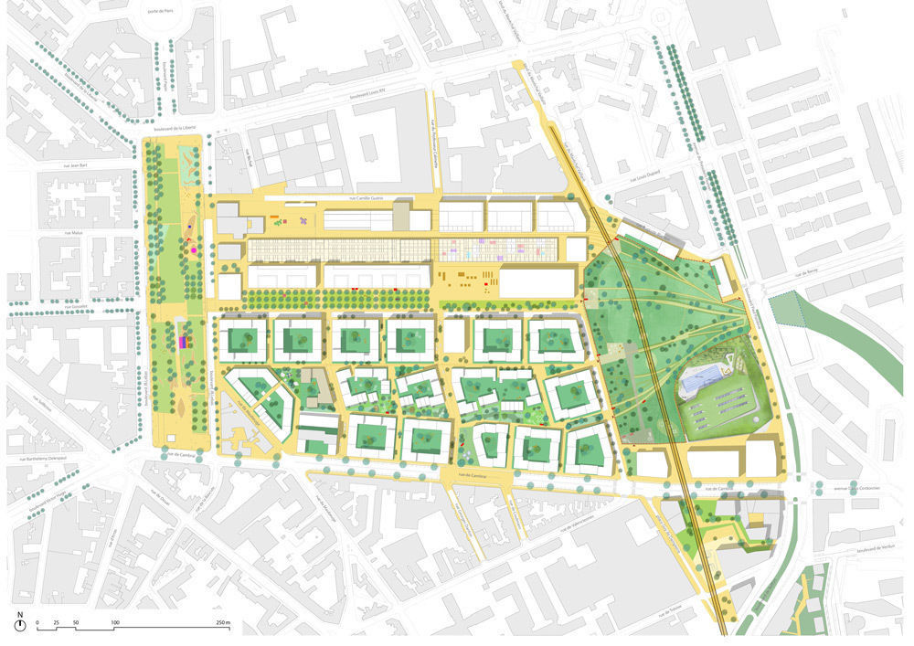 Enquête publique complémentaire à l'enquête initiale de la ZAC Saint Sauveur à Lille