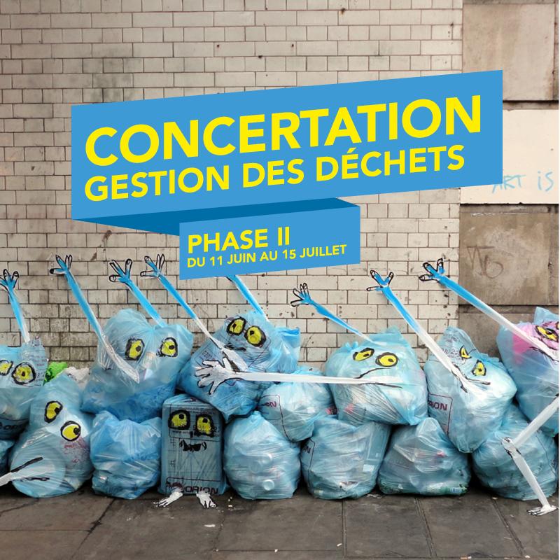🗑Nouvelle gestion des déchets en métropole - Phase II