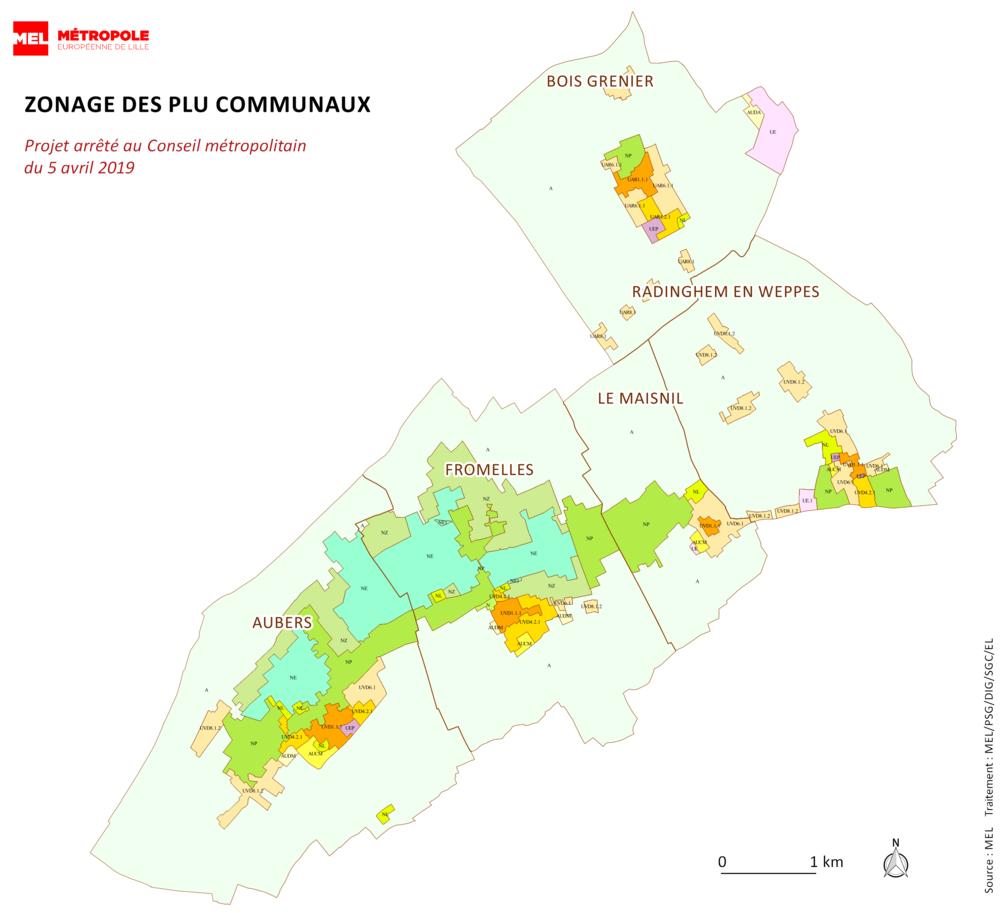 🏙️ Enquête publique - Révision générale des Plans Locaux d'Urbanisme des communes d'Aubers, Bois-Grenier, Le Maisnil, Fromelles et Radinghem-en-Weppes