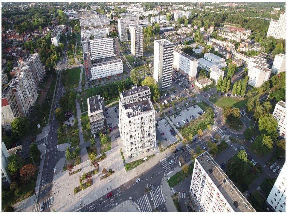 MONS EN BAROEUL - Le Nouveau Mons - Projet de renouvellement urbain