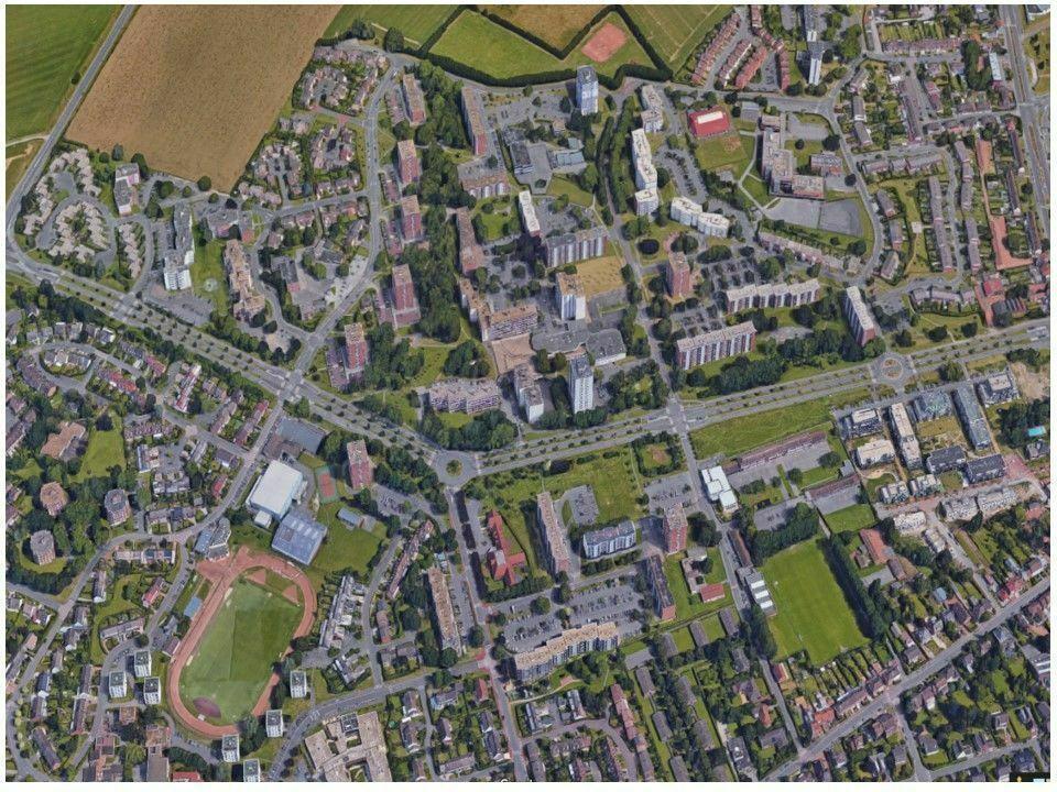Wattignies - Quartier Le Blanc Riez - Projet de renouvellement urbain