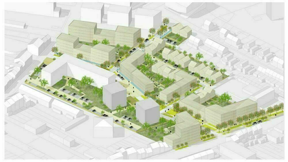 LILLE - Secteur Lille Sud - Nouveau projet de renouvellement urbain